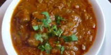 Agneau curry