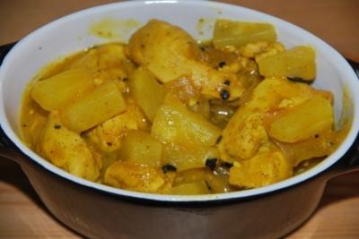 Poulet ananas