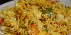 Biryani légumes